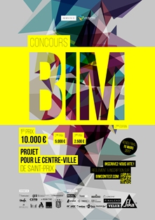 [Le Concours BIM 2017, un concours d'architectes autour du projet de Centre-Ville à Saint-Prix]