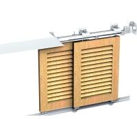 Volets coulissants aluminium gamme win slide mantion sas fiches produit - Double rail coulissant ...